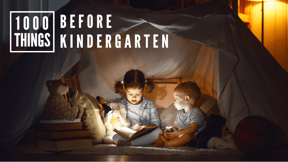 Click here to learn about 1000 Things Before Kindergarten